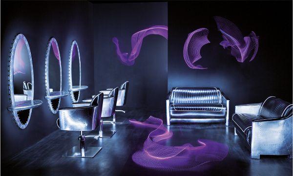 Mobiliario de peluquería y estética